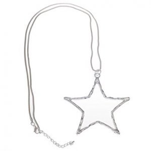 Necklace, Long, Pendant, Star