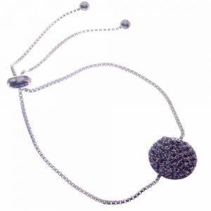 Bracelet, Lariat, Diamante