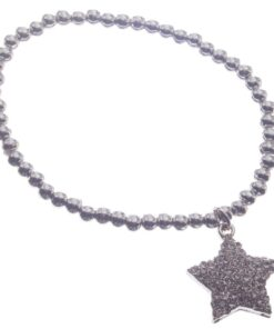 Bracelet, Pearl, Beads, Star