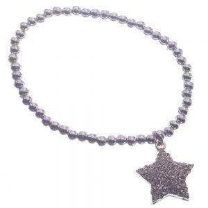 Bracelet, Pearl, Beads, Star