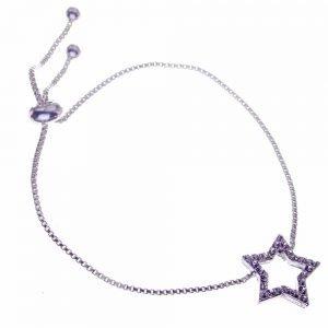Bracelet. Lariat, Star