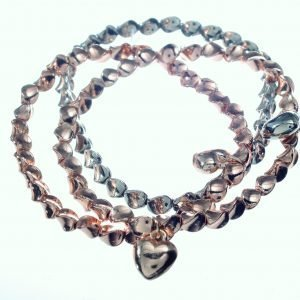 Bracelet, Triple, Hearts
