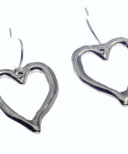 Heart, Drop, Earrings