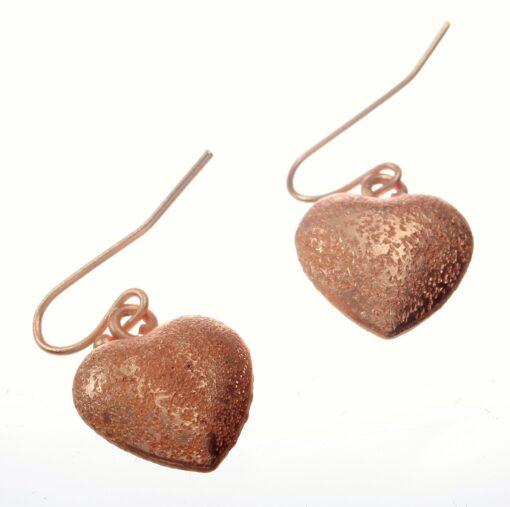 Earring, Heart, Drop