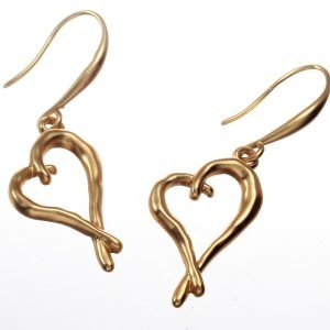 Earrings, Heart, Wedding