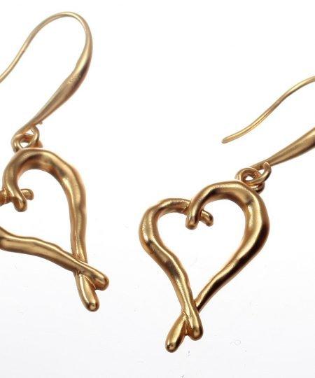 Earrings, Heart, Wedding