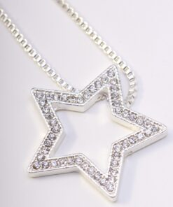 Necklace, Long, Pendant, Stars