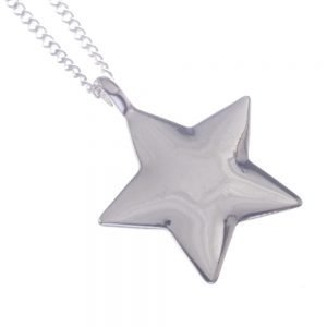Long, Pendent, Necklace, Star