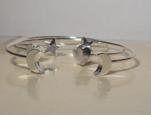 Bracelet, Silver, Rose Gold