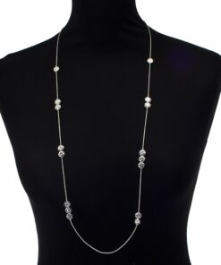 Necklace, Hearts, Long, Cascading