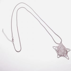 Long. Pendant, Star