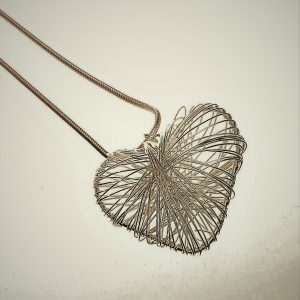 Necklace, Long,Heart, Pendant