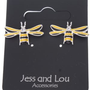 Ceramic Firefly Drop Earrings