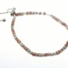 Mixed colour lariat bracelet