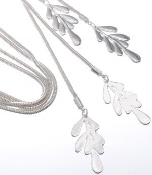 Cascading leaves on double chain