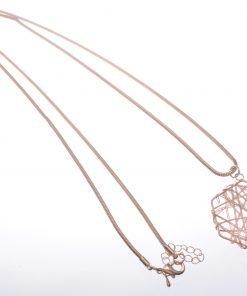 Web diamond pendant