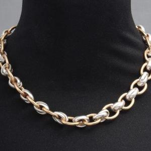 Chunky link chain choker